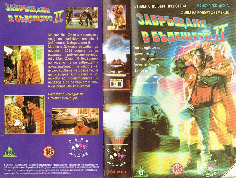 Завръщане в бъдещето 2 филм постер