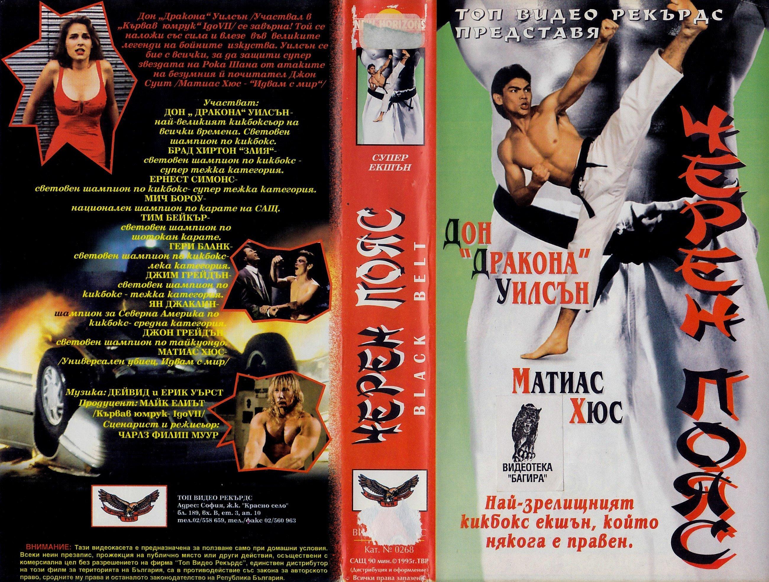 Черен пояс филм постер